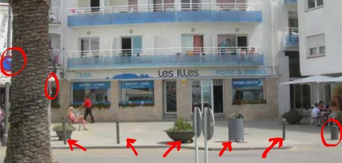 Hotel les illes denuncia voreres 1