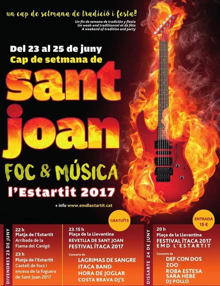 Saint John Eve Estartit